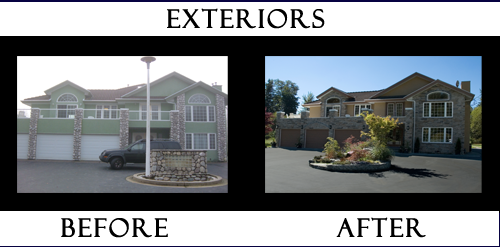 Exteriors Designed by Jan Addams of IMAGE To INTERIOR Inc.
